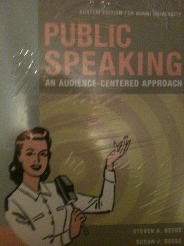 9781256677468: Public Speaking Miami University