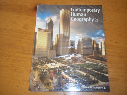 9781256692591: Contemporary Human Geography