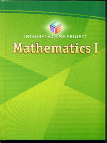 Mathematics 1. Integrated CME Project