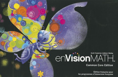 9781256705062: FRENCH ENVISION MATH STUDENT EDITION GRADE 1
