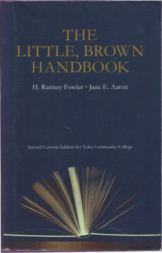 9781256707028: The Little Brown Handbook (Second Custom Edition for Tulsa Community College)