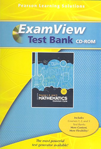 9781256709831: MIDDLE GRADES MATH 2013 GRADE 6-8 EXAMVIEW CD ROM