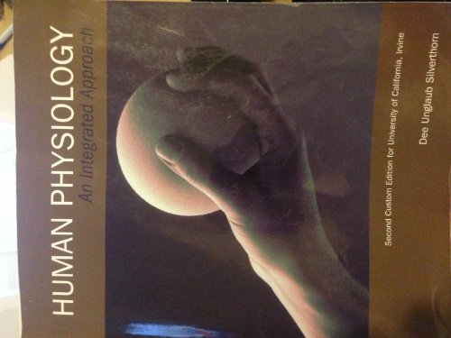9781256711216: Human Physiology: An Integrated Approach (2nd Custom Edition for University of California, Irvine)