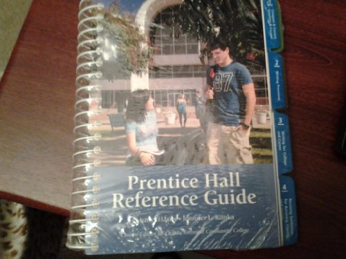 9781256713654: Prentice Hall Reference Guide - Ozark Technical Community College