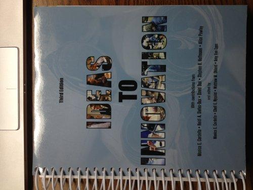 9781256719199: Ideas to Innovation (Ideas to Innovation: Third Edition)