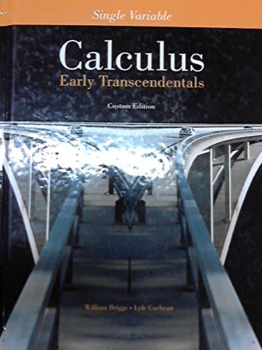 9781256719328: Single Variable Calculus Early Transcendentals Custom Edition
