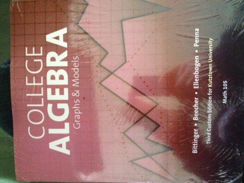 College Algebra Graphs and Models (Math 105)