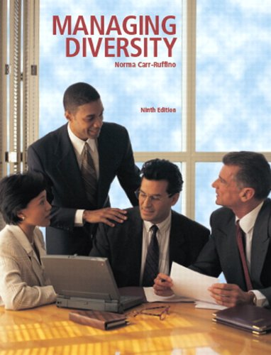 9781256726029: Managing Diversity Package National