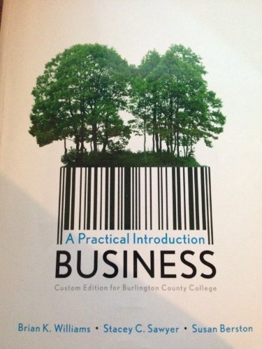 9781256727910: A Practical Introduction Business; Custom Ed. for Burlington County College