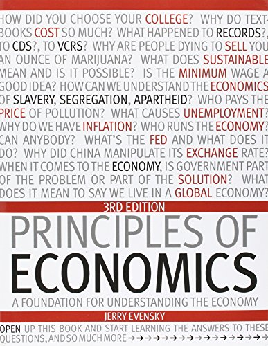 9781256728313: Principles of Economics 3rd Edition - Jerry Evensky