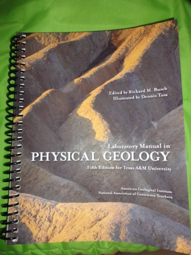 9781256728818: Laboratory Manual in Physical Geology
