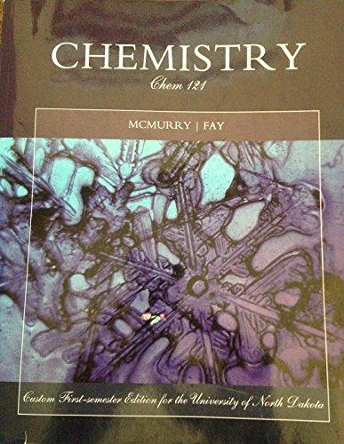 Chemistry (Chem 121): John E. McMurry,