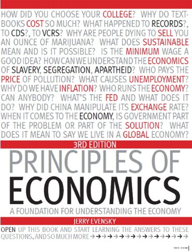 9781256732372: Principles of Economics: A Foundation for Understanding the Economy Package Syracuse University