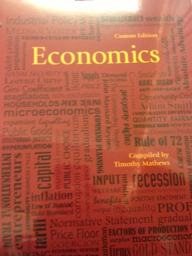 9781256735458: Economics: Custom Edition