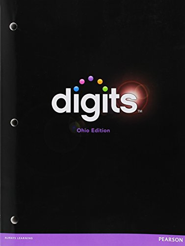 9781256738923: Digits Math with Custom Companion Book, Ohio Edition, Grade 8
