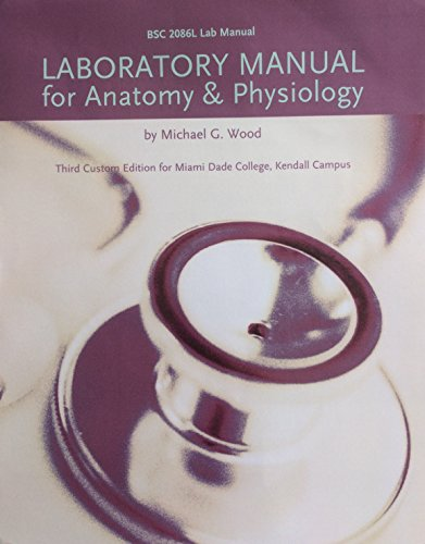 9781256739074: Laboratory Manual for Anatomy & Physiology