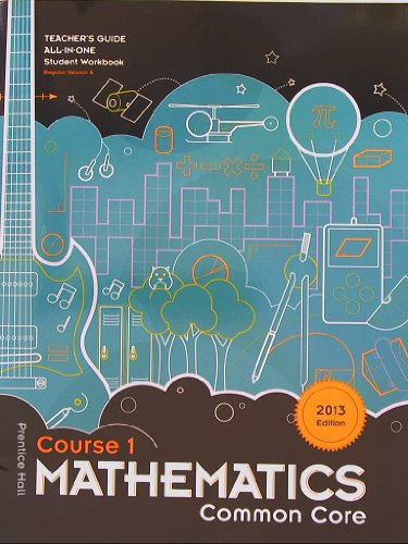 9781256739210: Prentice Hall Mathematics, Common Core, 2013 Edition