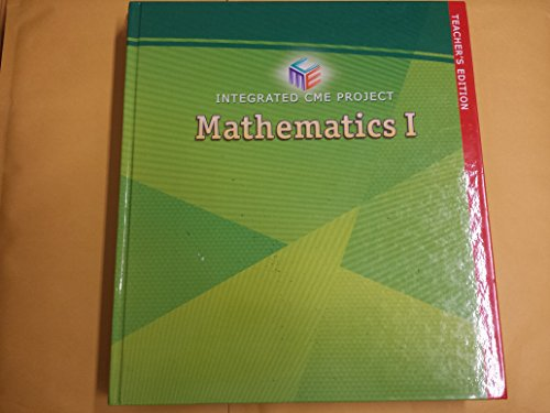 Integrated CME Project Mathematics 1 - TE: Cuoco, Kerins