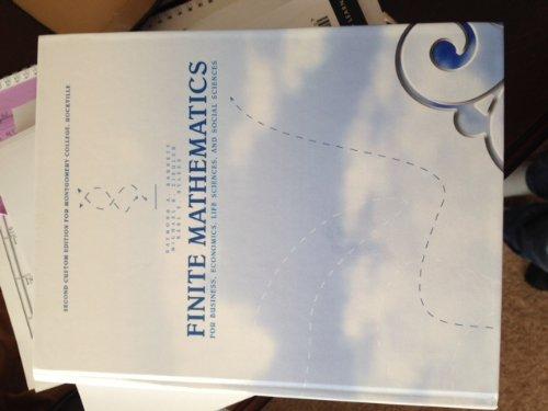 9781256750611: Finite Mathematics for Business, Economics, Life Sciences, and Social Sciences