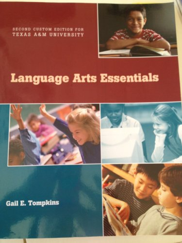 9781256758372: Language Arts Essentials (Second Custom Edition for Texas A&M University)