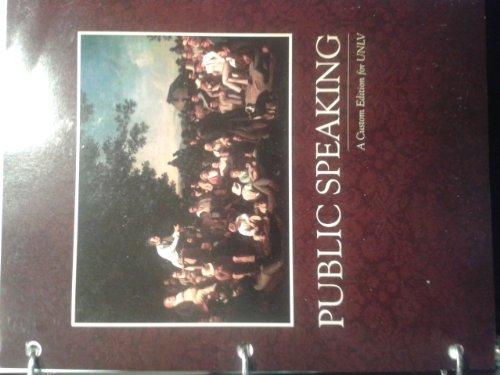 9781256762034: Public Speaking: Strategies for Success Unlv Custom Edition 6th Ed.