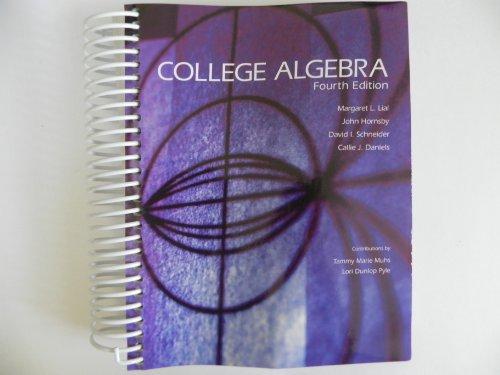 9781256762041: College Algebra, Fourth Edition