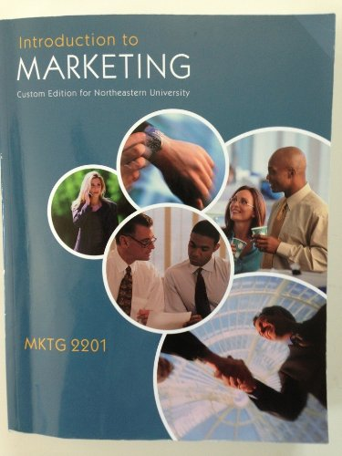 Introduction to Marketing Custom Edition for Northeastern
