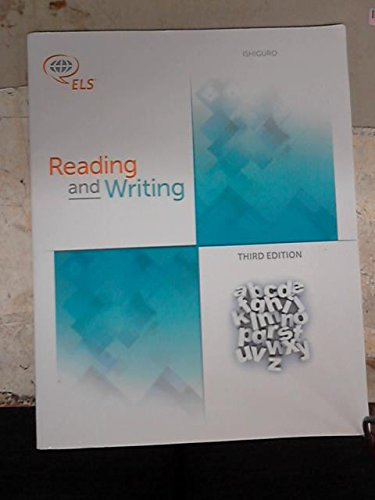 9781256764663: Reading and Writing