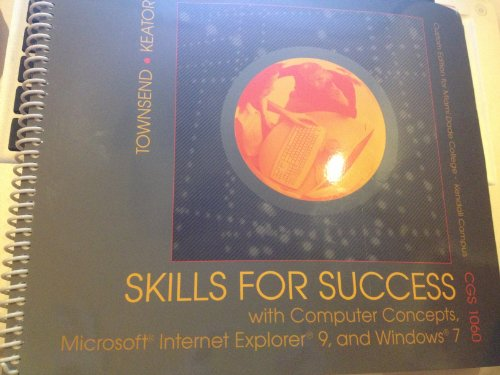 Skills for Success: With Computer Concepts -