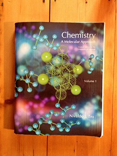 9781256767275: Chemistry: A Molecular Approach, Vol. 1 (Custom Edition for the University of Vermont)