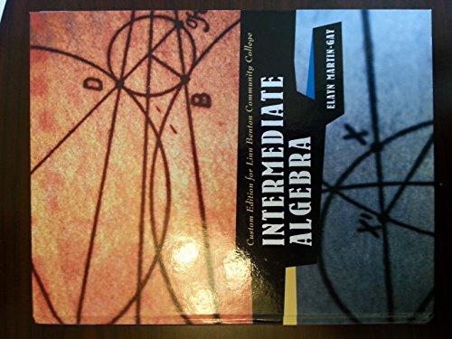 9781256768814: Intermediate Algebra (Custom Edition for Linn Benton Community College)