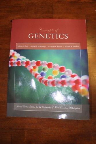 9781256770336: Concepts of Genetics