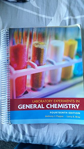 9781256770909: Laboratory Experiments in General Chemistry