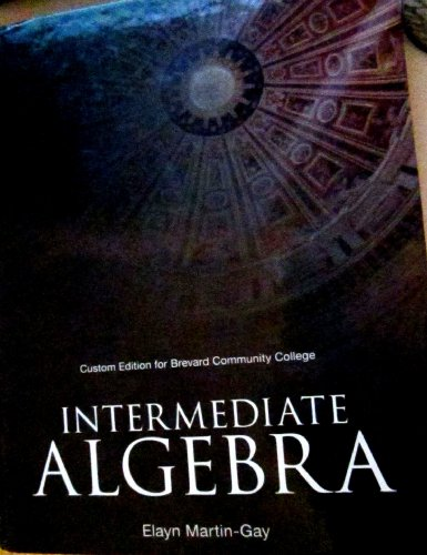 9781256772422: INTERMEDIATE ALGEBRA >CUSTOM<