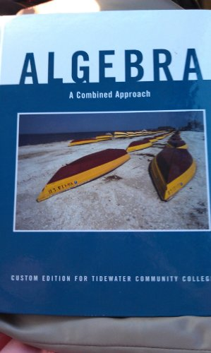 9781256773702: Algebra a Combined Approach