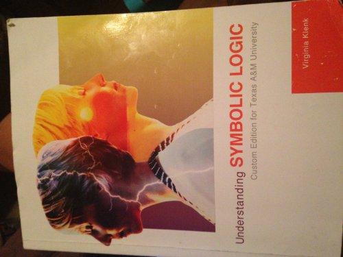 9781256777090: Understanding Symbolic Logic