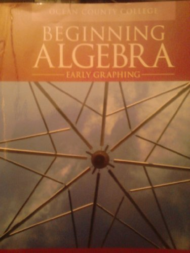 9781256781011: BEGINNING ALGEBRA >CUSTOM<