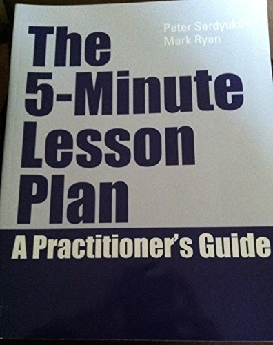 9781256786436: The 5-minute Lesson Plan a Practioner's Guide