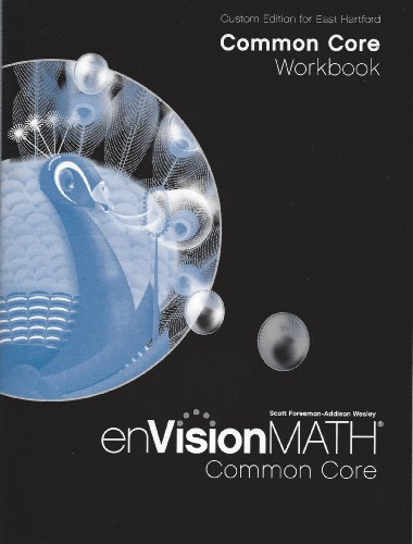 9781256790105: Custom Edition for East Hartford Common Core Workbook envisionMath Common Core for Grade 3