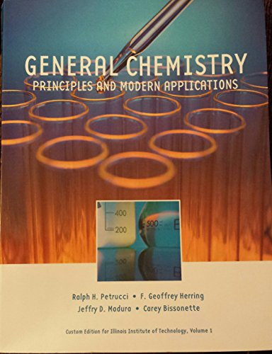 9781256798286: General Chemistry: Principles and Modern Applications Volume 2