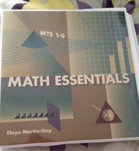 9781256800583: Math Essentials /MTE 1-9