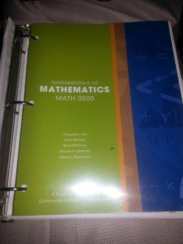 9781256802020: Fundamentals of Mathematics Math 0500