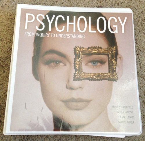 9781256803621: Psychology: From Inquiry to Understanding - Custom FSU Edition
