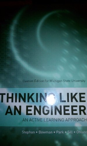 9781256803676: Thinking Like an Engineer: An Active Learning Approach Custom Edition for Michigan State University