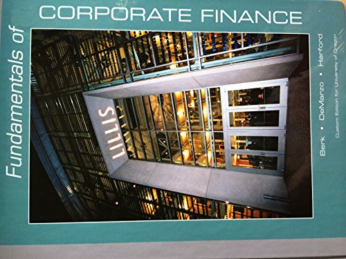 Fundamentals of Corporate Finance: Berk, Jonathan