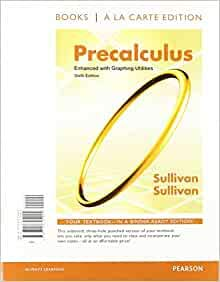 9781256807797: Pre-calculus Sullivan - Custom Edition for Henry Ford Community College