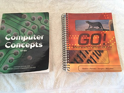 9781256808671: Computer Concepts, IST 101 Mercer County Community College