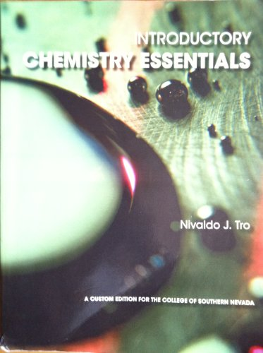 9781256814221: Introductory Chemistry Essentials College of Southern Nevada, 1/e