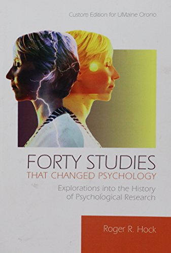 9781256814269: Forty Studies That Changed Psychology