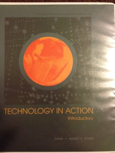 9781256818090: Technology in Action Package Passaic County Community College